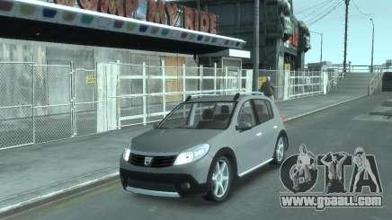 Renault Sandero v2.0 for GTA 4