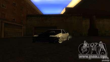 Toyota AE86 Trueno Touge Drift for GTA San Andreas