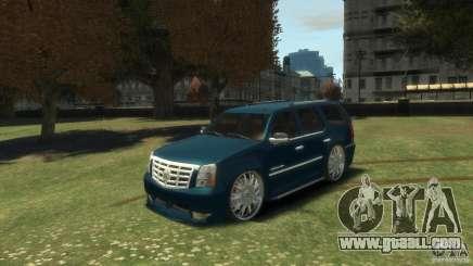 Cadillac Escalade Dub for GTA 4