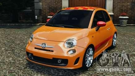 Fiat 500 Abarth for GTA 4
