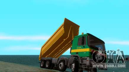 Mercedes-Benz Actros Truck SKIN S.G.B for GTA San Andreas