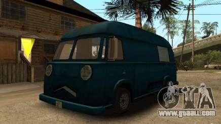 Civilian Hotdog Van for GTA San Andreas