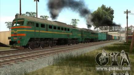 Freight locomotive Baltic States railway picture-1184 for GTA San Andreas