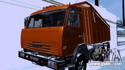 KAMAZ 54115 Truck for GTA San Andreas