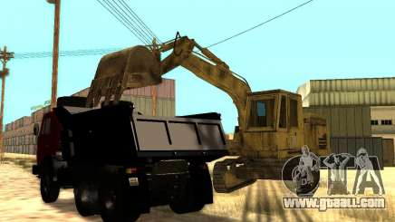 Excavator for GTA San Andreas