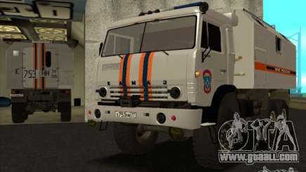 KAMAZ MES version 2 for GTA San Andreas