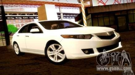 Acura TSX V6 for GTA San Andreas