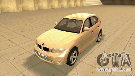 BMW 118i for GTA San Andreas