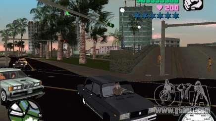 Vaz 2105 for GTA Vice City
