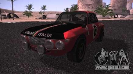 Lancia Fulvia Rally for GTA San Andreas