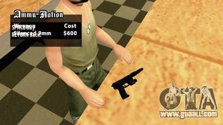 USP45 Tactical for GTA San Andreas
