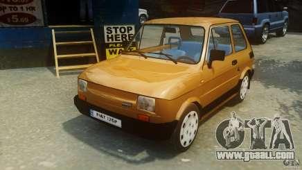 Fiat 126p FL Polski 1994 Wheels 2 for GTA 4