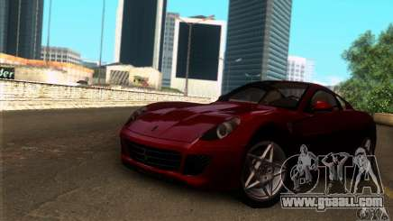 Ferrari 599 GTB Fiorano for GTA San Andreas