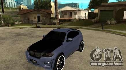 BMW X6 M HAMANN for GTA San Andreas