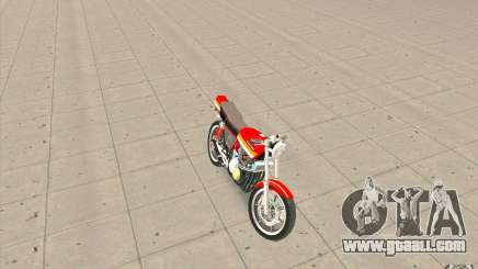 Kawasaki Z400FX for GTA San Andreas