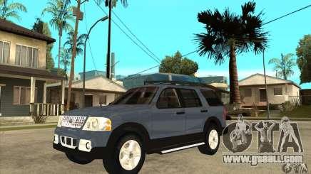 Ford Explorer 2004 for GTA San Andreas