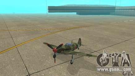 Yak-9 during WORLD WAR II for GTA San Andreas