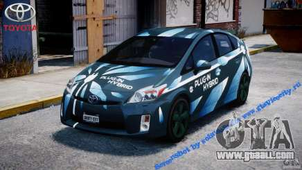 Toyota Prius 2011 PHEV Concept for GTA 4