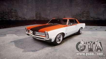 Pontiac GTO 1965 v3.0 for GTA 4