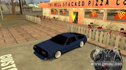 Delorean DMC-12 Drift for GTA San Andreas