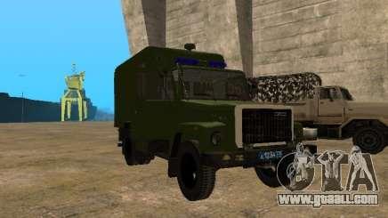 GAZ 3309 paddy wagon for GTA San Andreas