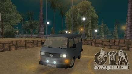 Volkswagen Transporter T3 for GTA San Andreas