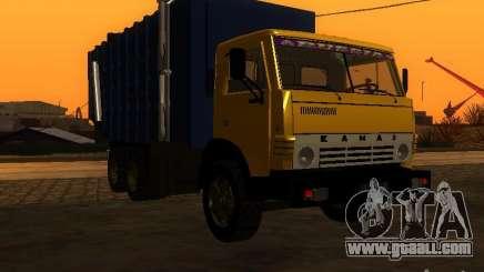 KAMAZ 53212 garbage truck for GTA San Andreas
