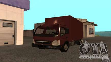 Mitsubishi Fuso Center for GTA San Andreas