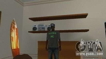 Noize Mc Tee for GTA San Andreas