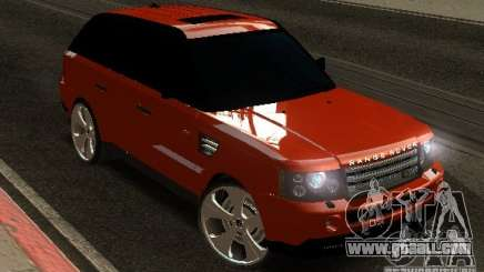 RANGE ROVER SPORT v 2.0 for GTA San Andreas