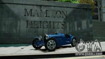 Bugatti Type 35C for GTA 4