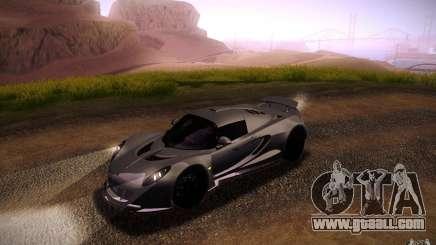 Hennessey Venom GT 2010 V1.0 for GTA San Andreas