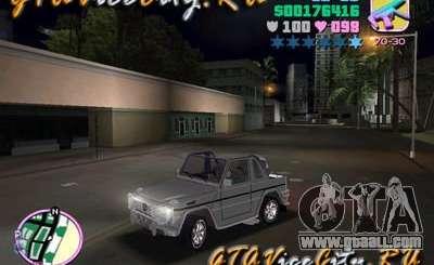 Mercedes-Benz G-Cabrio for GTA Vice City