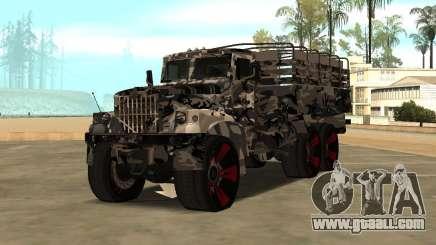 Ural 5773 Tuning for GTA San Andreas