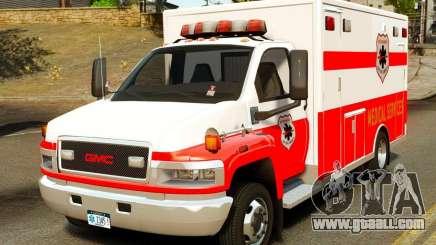 GMC C5500 Topkick Ambulance for GTA 4