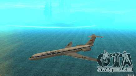 Aeroflot Il-62 m for GTA San Andreas