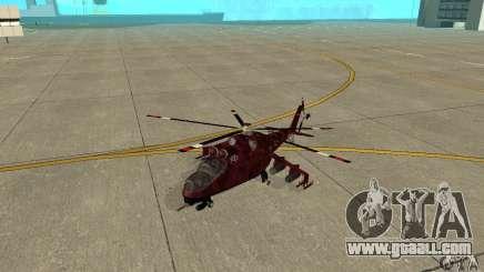 Mi-24 for GTA San Andreas