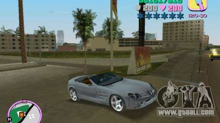 Mercedes-Benz VISION SLR Cabrio for GTA Vice City