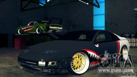 Nissan 300ZX Bad Shark for GTA San Andreas