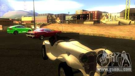 Jaguar SS 100 for GTA San Andreas