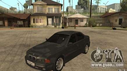 BMW 523i E39 1997 for GTA San Andreas
