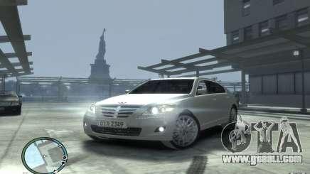 Hyundai Genesis Sedan Elite for GTA 4