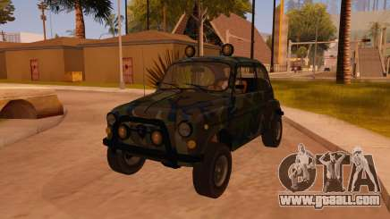 Zastava 750 4x4 Camo for GTA San Andreas