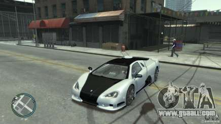 Shelby Super Cars Ultimate Aero for GTA 4