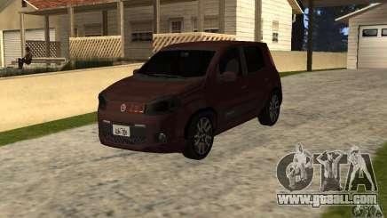 Fiat Novo Uno Sporting for GTA San Andreas