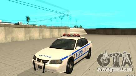 Police Patrol from GTA 4 for GTA San Andreas