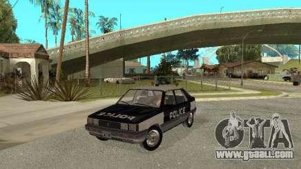 Renault 11 Police for GTA San Andreas