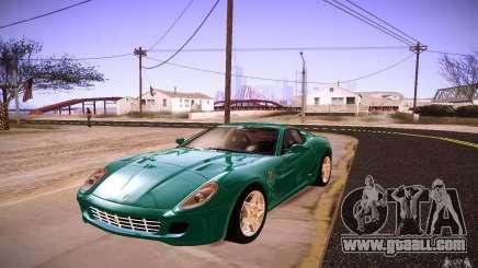 Ferrari 599 GTB Fiorano 2010 for GTA San Andreas
