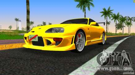 Toyota Supra JZA80 C-West for GTA Vice City