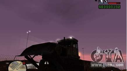 Bulldozer T 130 for GTA San Andreas